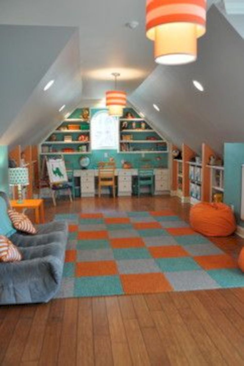 Best attic makeover ideas to inspire you 17