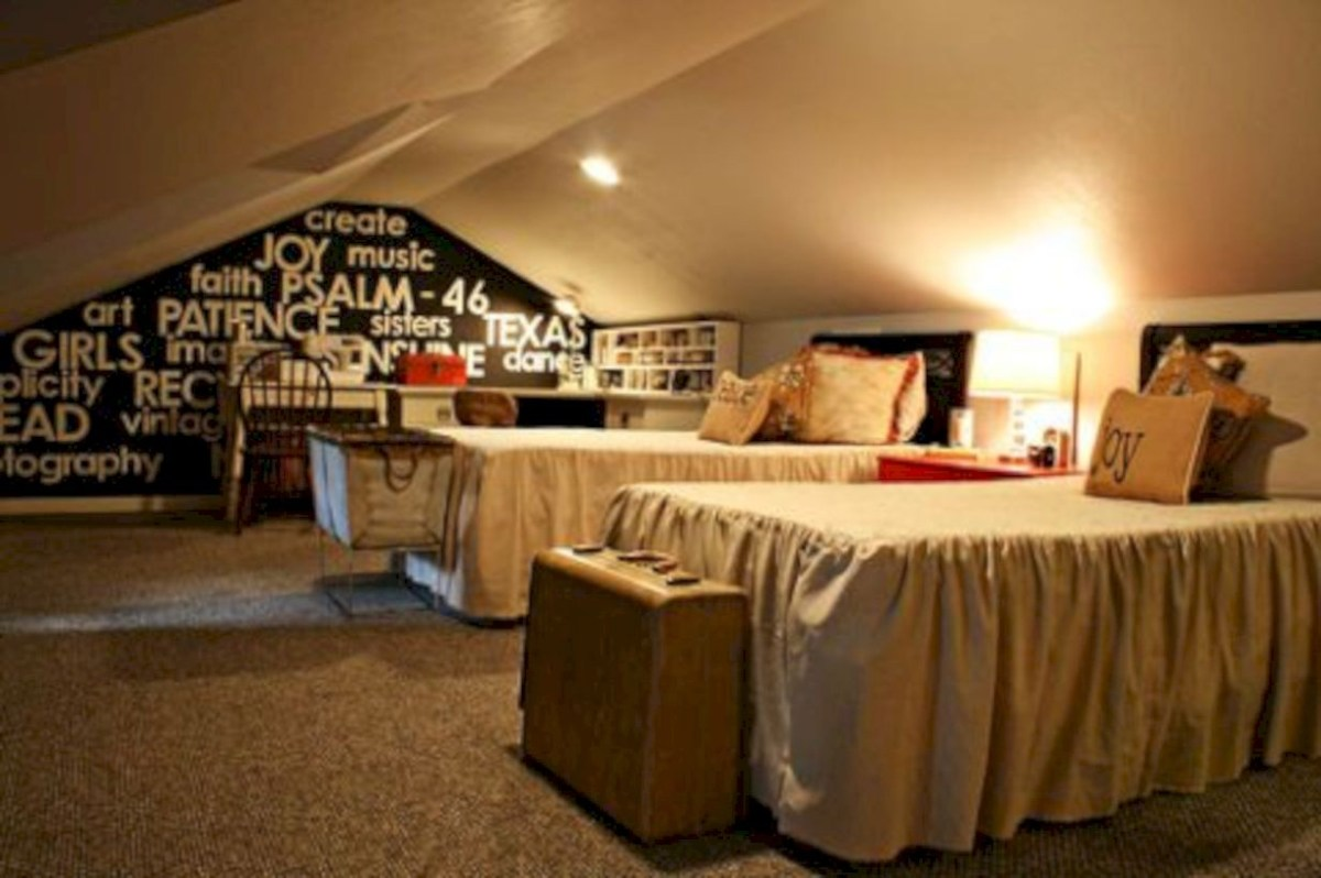 Best attic makeover ideas to inspire you 37