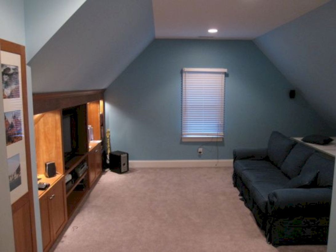 Best attic makeover ideas to inspire you 42