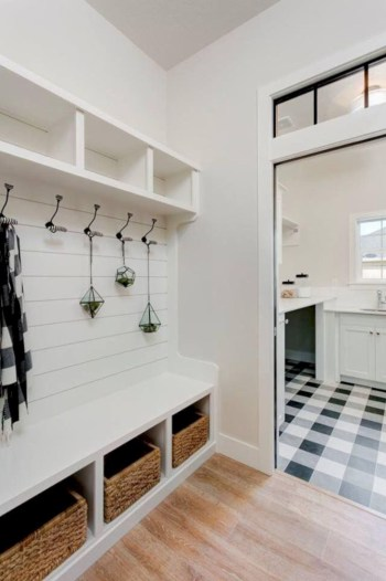 Laundry room storage shelves ideas to consider 32