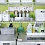 Laundry room storage shelves ideas to consider 35