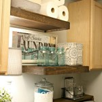 Laundry room storage shelves ideas to consider 37