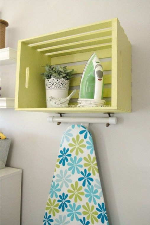 Laundry room storage shelves ideas to consider 38