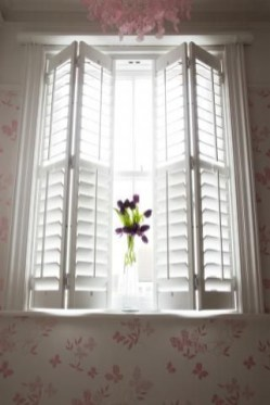 Simple and elegant plantation shutters that perfect for every style 06