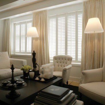 Simple and elegant plantation shutters that perfect for every style 13