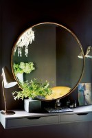 Adorable round mirror designs to brighten up your small space 03