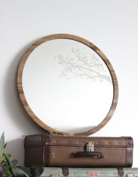 Adorable round mirror designs to brighten up your small space 04