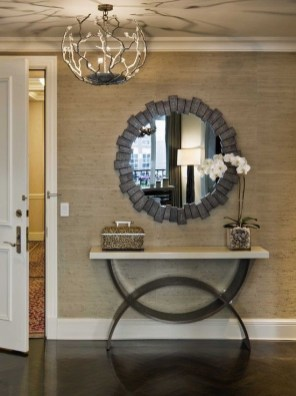 Adorable round mirror designs to brighten up your small space 08