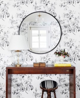 Adorable round mirror designs to brighten up your small space 34