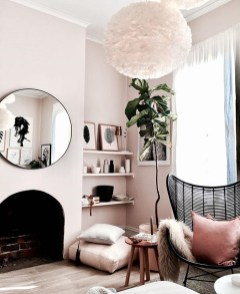 Adorable round mirror designs to brighten up your small space 38