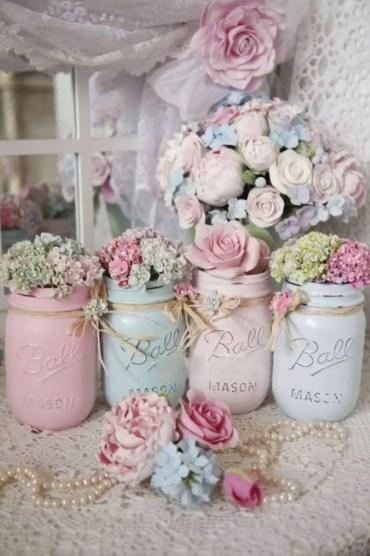 Cheerful ways to use mason jars this spring 28