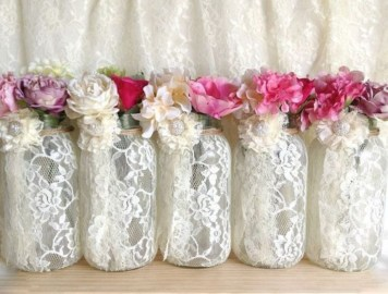Cheerful ways to use mason jars this spring 33