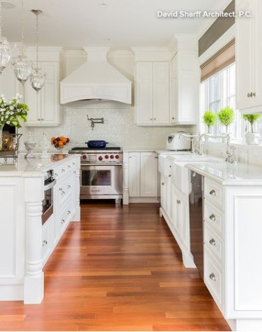 Modern herringbone pattern to give unique elements to your kitchen 26