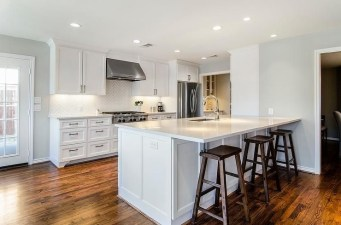 Modern herringbone pattern to give unique elements to your kitchen 39