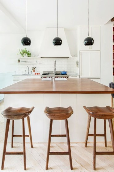 Modern herringbone pattern to give unique elements to your kitchen 47