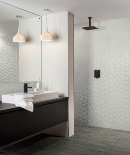 Unique honeycomb tile to give your bathroom a new look 14