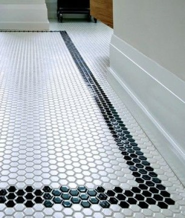 Unique honeycomb tile to give your bathroom a new look 35