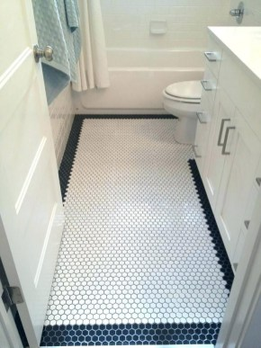 Unique honeycomb tile to give your bathroom a new look 39