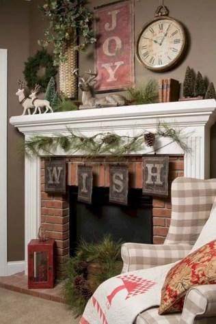 Adorable farmhouse christmas decor ideas 13