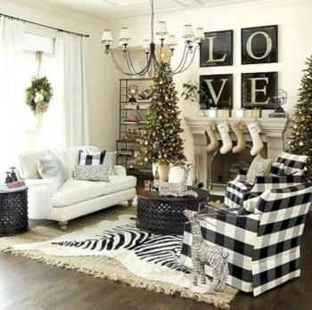 Adorable farmhouse christmas decor ideas 14