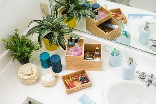 Awesome clutter-free ideas to organize your countertop 16