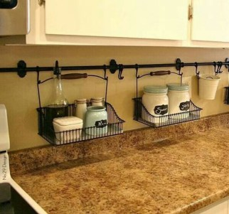 Awesome clutter-free ideas to organize your countertop 31