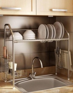 Awesome clutter-free ideas to organize your countertop 35