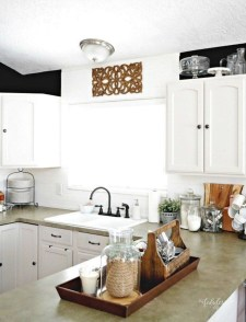 Awesome clutter-free ideas to organize your countertop 36