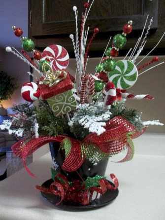 Beautiful christmas centerpiece ideas you should try 06