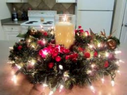 Beautiful christmas centerpiece ideas you should try 07