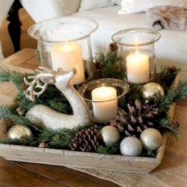 Beautiful christmas centerpiece ideas you should try 21