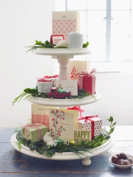 Beautiful christmas centerpiece ideas you should try 38