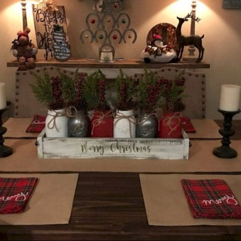 Beautiful christmas centerpiece ideas you should try 41