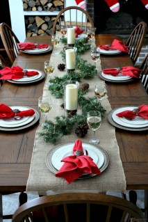 Beautiful christmas centerpiece ideas you should try 45