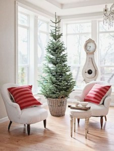 Beautiful christmas decor for small space 03