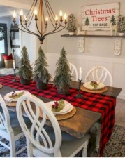 Beautiful christmas decor for small space 26