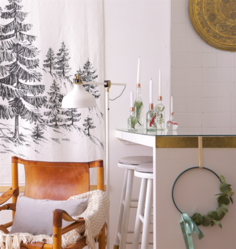 Beautiful christmas decor for small space 31
