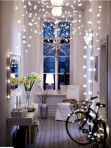 Beautiful christmas decor for small space 35
