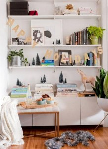 Beautiful christmas decor for small space 45