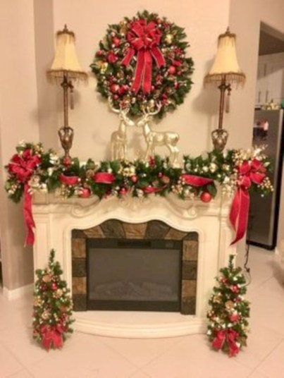 Beautiful christmas decor for small space 51