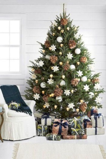 Beautiful christmas tree decoration ideas to see 07