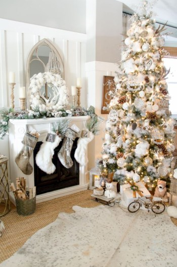 Beautiful christmas tree decoration ideas to see 15