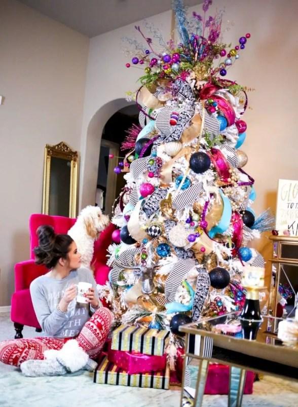 Beautiful christmas tree decoration ideas to see 24
