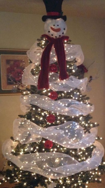 Beautiful christmas tree decoration ideas to see 25