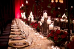Beautiful winter table decoration ideas for a romantic dinner 40