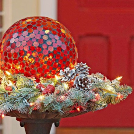 Colorful winter planters for your outdoor decorations 26