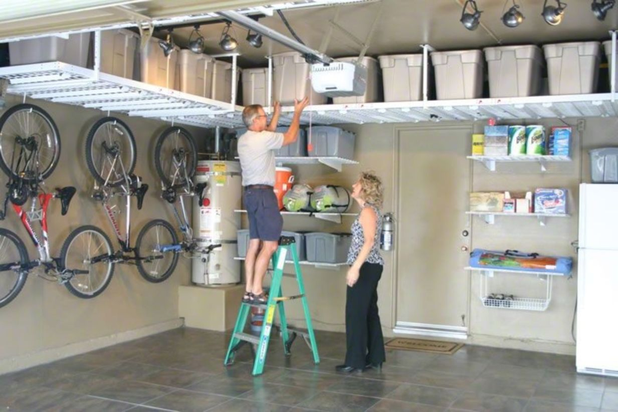 Creative hacks to organize your stuff for garage storage 22
