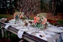 Easy winter centerpiece decoration ideas to try 07