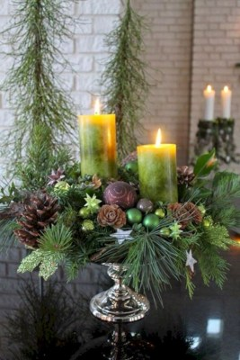 Easy winter centerpiece decoration ideas to try 16