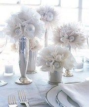 Easy winter centerpiece decoration ideas to try 24